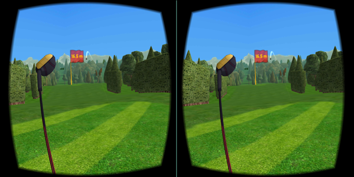 Golf VR apk screenshot