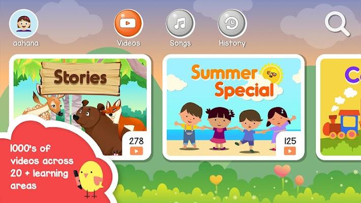 AppyStore Kids Learning Videos - screenshot