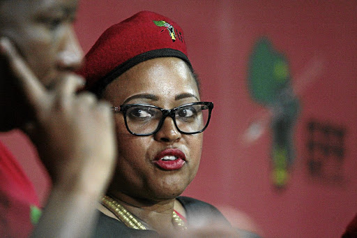 EFF's Itani Mukwevho replaces Gauteng chairperson Mandisa Mashego following her resignation - SowetanLIVE