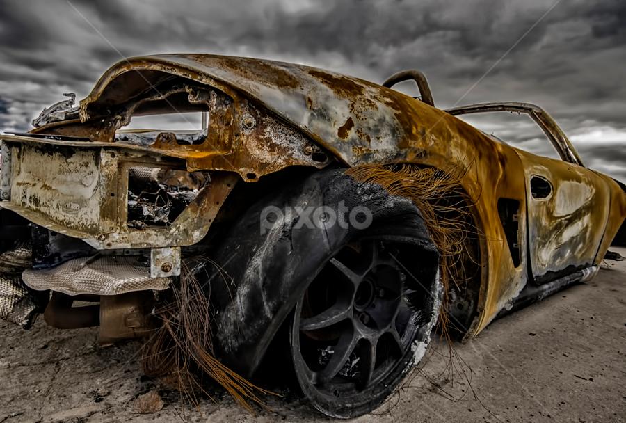 Sandy Porsche by Sarah Hauck - News & Events Weather & Storms ( pwcstorms, porsche )