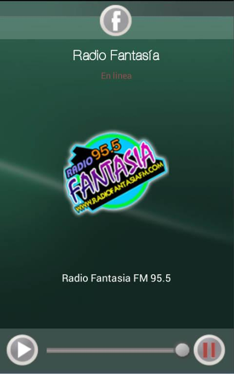 Radio Fantasia 95.5: captura de pantalla