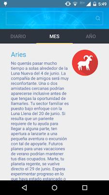 Free daily horoscope - screenshot