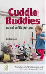 Cuddle Buddies Animal Softie Pattern - Kirstyn Cogan