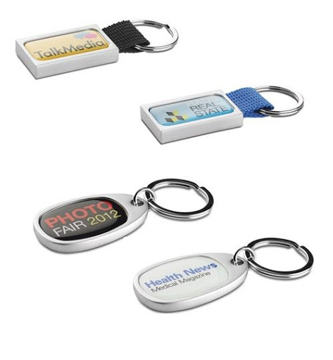 Metal Full Colour Keyring