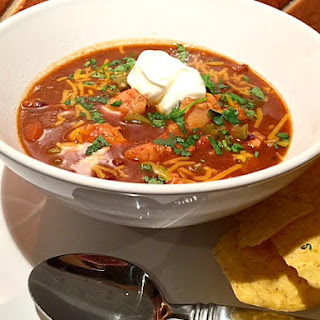 Chicken Pumpkin Chili in the Hamilton Beach Stay or Go Slow Cooker #Giveaway