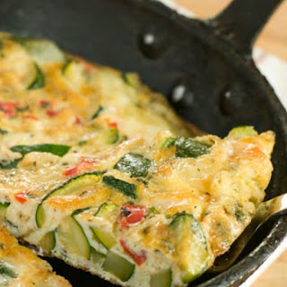 Vegetable Frittata.
