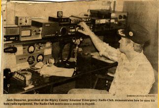 Photo: WB9OTX Should Be: Amateur Radio Emergency Service (ARES)
