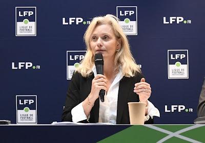 """La présidente de la LFP ouverte au dialogue : """"Une zone où l'on pourra craquer des fumigènes"""""""