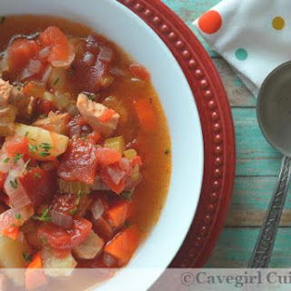 Paleo Leftover Turkey Stew (Instant Pot and Stovetop)