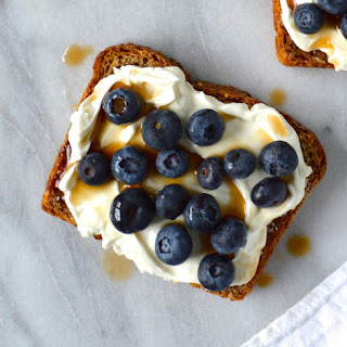 Blueberry Balsamic Toasts