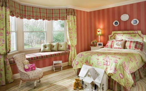 Bedroom WindowTreatment Design