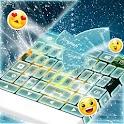 Лед Клавиатура Зима