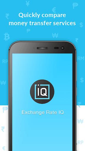 Exchange Rate IQ -Comparar transferencia de dinero screenshot 1