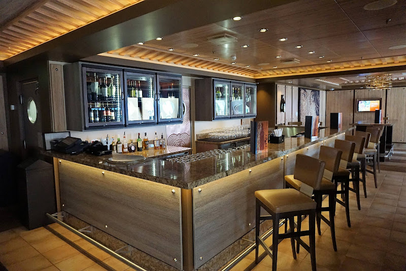 Try some new wines at Vintages Wine Bar on deck 8 of Harmony of the Seas.