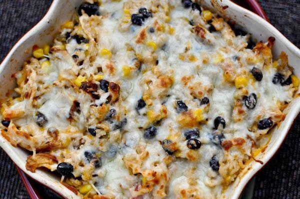 Southwestern Chicken Casserole Recipe
