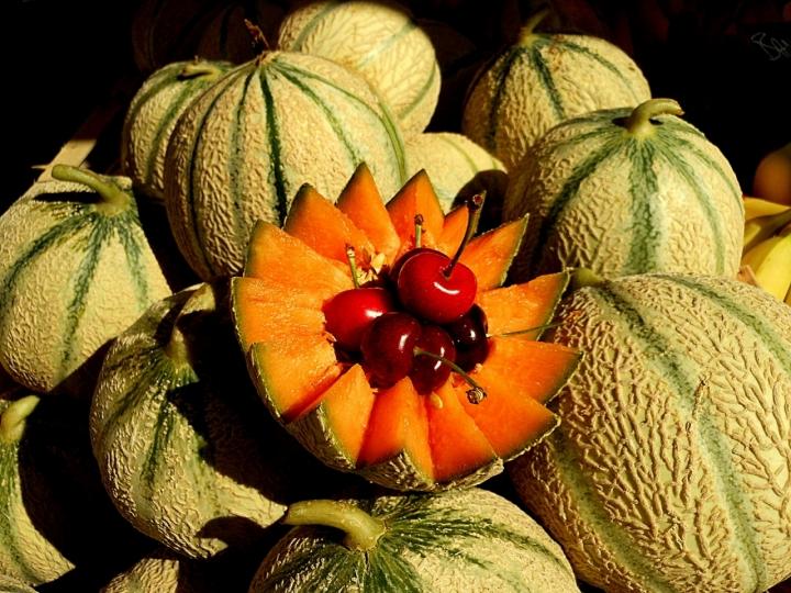 I meloni di Cavaillon di provenza