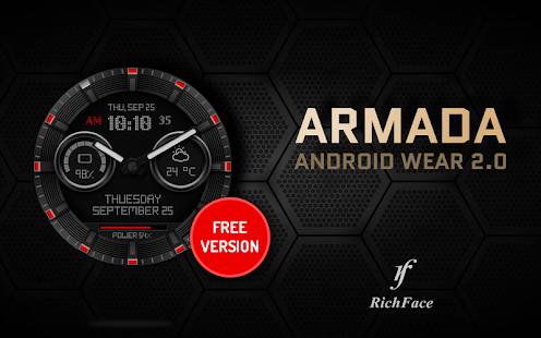 Watch Face Armada - náhled