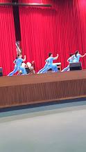 Photo: School Visit - 至善國中:Wushu Perfermance