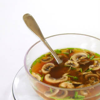 Asian-Style Mushroom Soup.