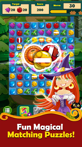 New Witchy Wizard 2019 Match 3 Games Free No Wifi screenshots 5