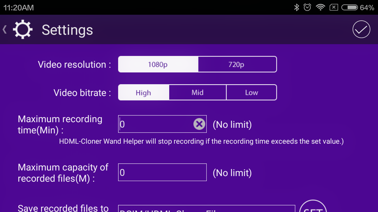 HDML-Cloner Wand Helper Mobile- screenshot