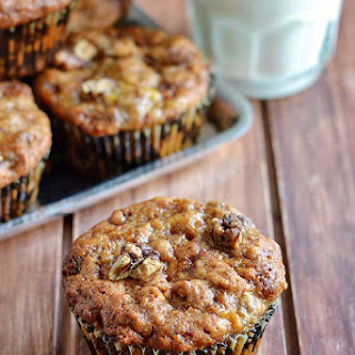 Eggless Banana Muffins Recipe – Eggless Banana Walnut Muffins