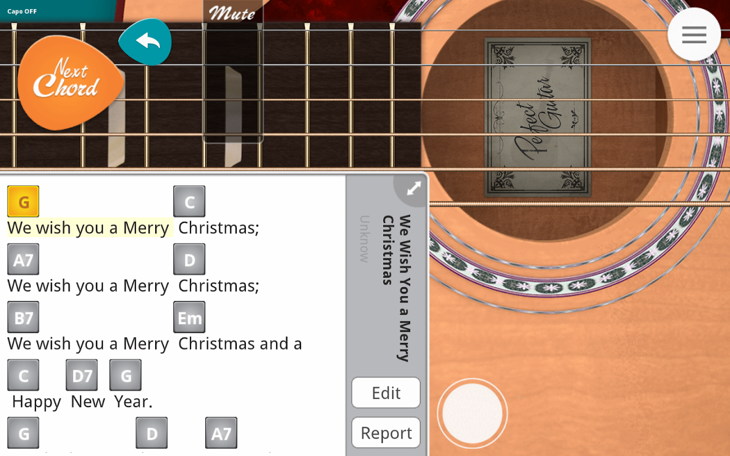 Screenshots of Guitar + for iPhone