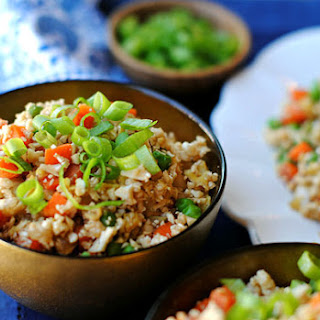 "Healthy Cauliflower Fried ""Rice"""