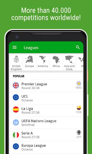 BeSoccer - Soccer Live Score screenshot 8