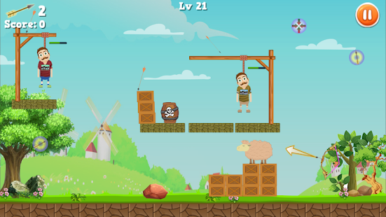 Rescue Bearded Archery Game 2- screenshot thumbnail