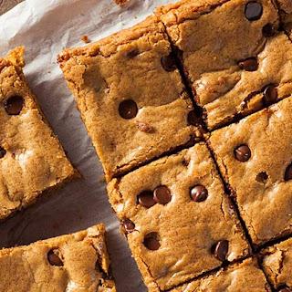 Chocolate Chip Peanut Butter Blondies Recipes