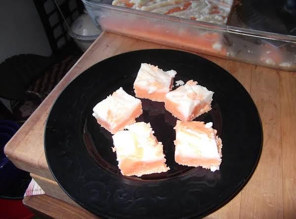 Ali's Orange Creamsicle Fudge