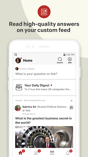 Quora — Ask Questions, Get Answers 3.0.3 screenshots 1