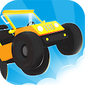Hill Racing Car Up icon