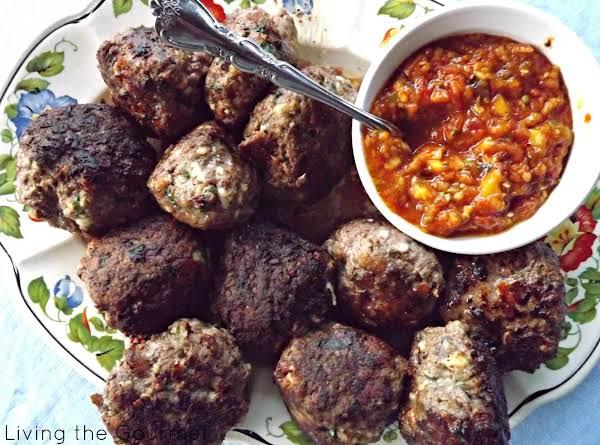 Fresh Salsa And Meatballs Recipe