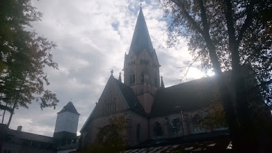 Photo: monastery st. ottilien: the quite new church (100 years old)