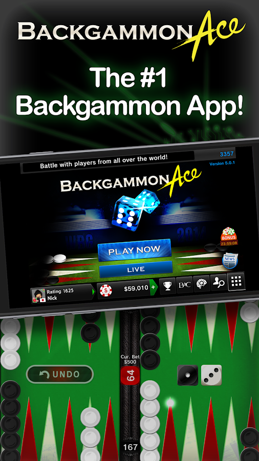 Backgammon Ace - Board Games- screenshot