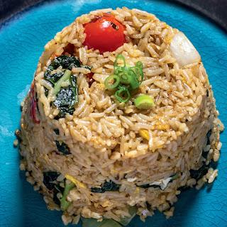 Hong Thaimee's Kale Fried Rice.