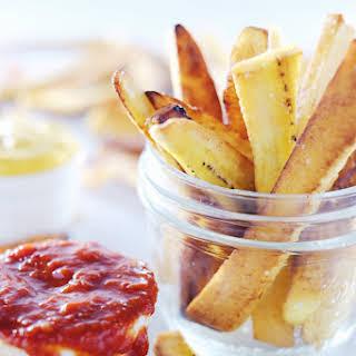 Paleo Plantain Fries.