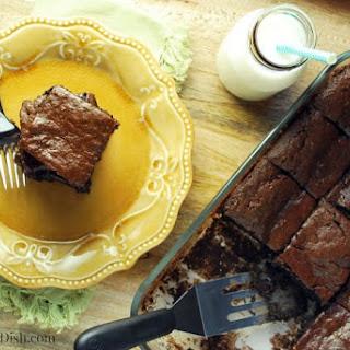 Flourless Chocolate Tahini Brownies.