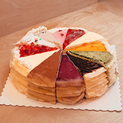 Mixed Crepes Whole Cake