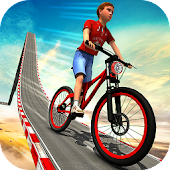 Impossible Kids Bicycle Rider - BMX Hill Tracks
