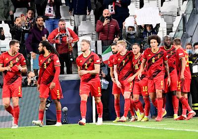 Les Diables restent en tête du classement FIFA, la France monte sur le podium