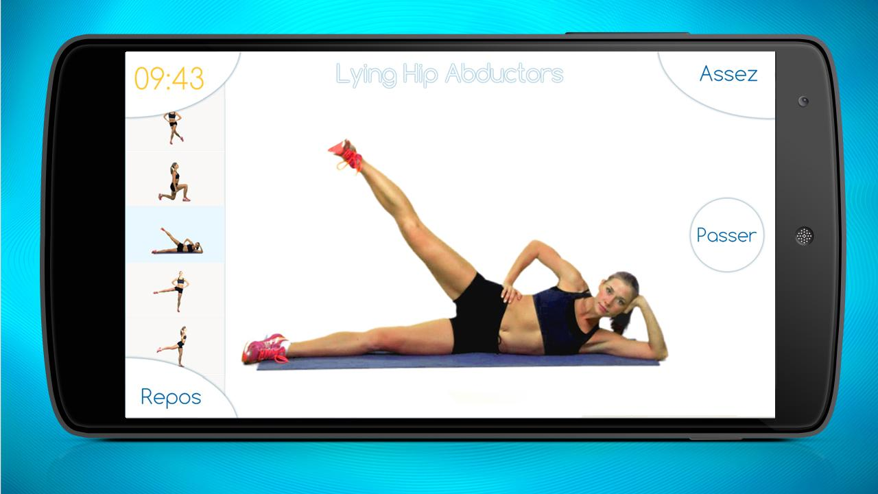 fesses fitness cul exercice applications android sur google play. Black Bedroom Furniture Sets. Home Design Ideas