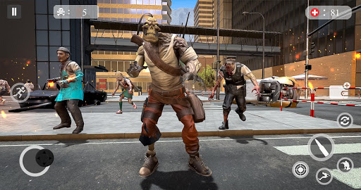 Zombie Attack Games 2019 - Zombie Crime City screenshots 5