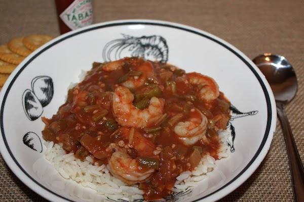Shrimp And Okra Gumbo Recipe