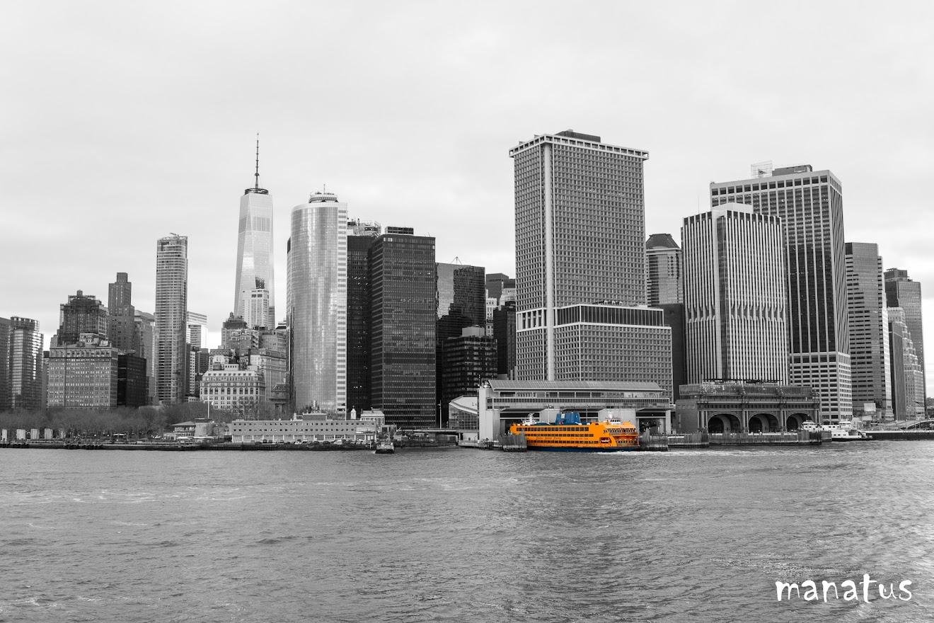 Ferry en battery park