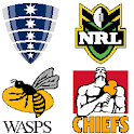 Rugby Logos Pixel Art: Color by Number Book Pages icon