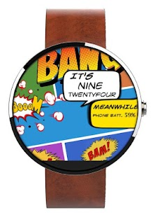How to get WATCH FACE- COMIC TIMES patch 1.0 apk for laptop