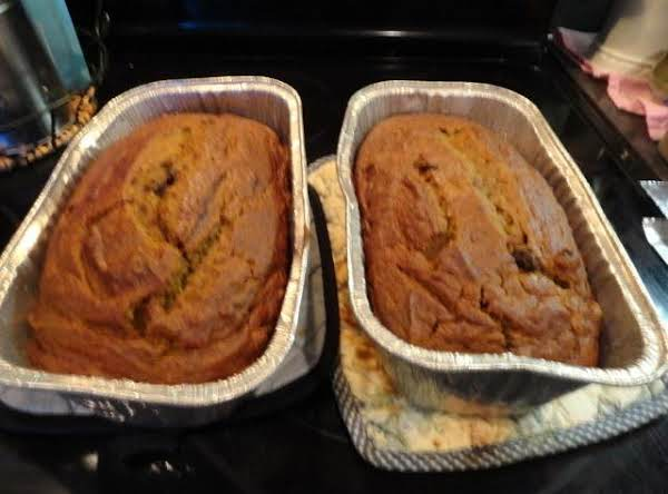 Rosie's Pumpkin Bread Recipe